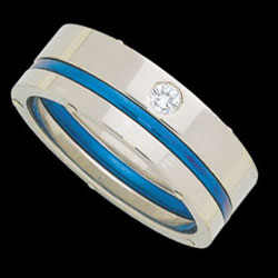1c192---white-gold-flat-band-with-blue