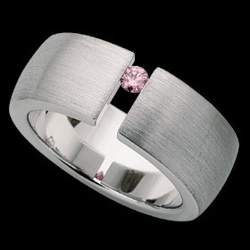 c432 - 18ct white gold ring